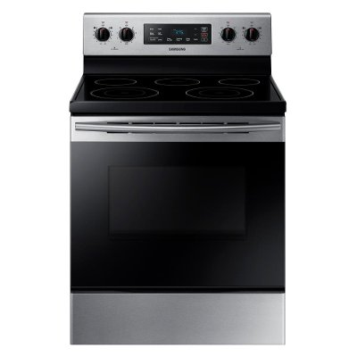 NE59M4310SS Samsung Electric Range with Warming Center - 5.9 cu. ft. Stainless Steel