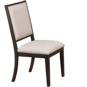 gray upholstered dining chair hartford collection