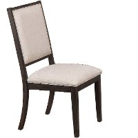 Gray Upholstered Contemporary Dining Room Chair - Hartford