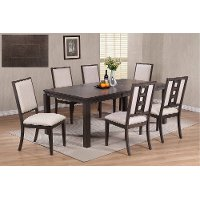 Gray 5 Piece Contemporary Dining Set - Hartford