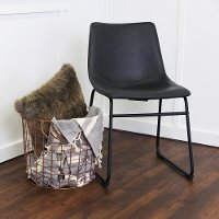 Black Dining Chair - Aviator Collection