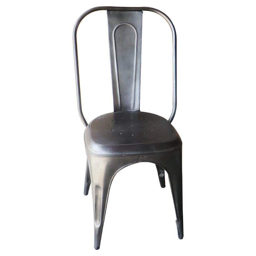 ... Clearance Silver Dining Chair   Iron