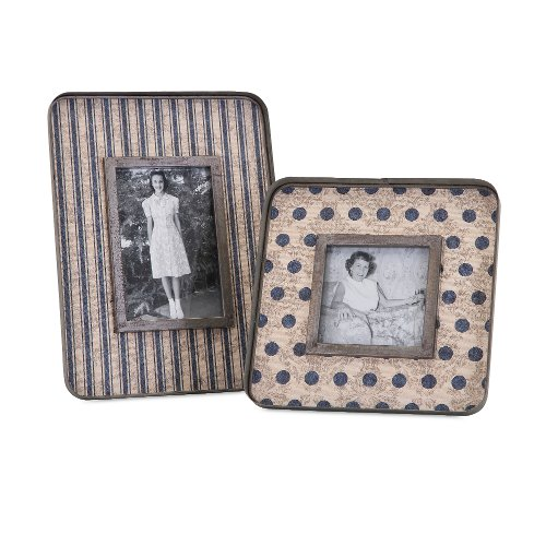 7 Inch Galvanized Picture Frame