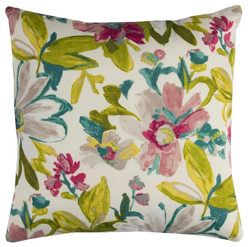 Multi Color Fl Indoor Outdoor Throw Pillow