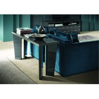 Modern Smokey Gray Sofa Table Versilia Rc Willey