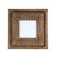 Brown 4x4 Wood Picture Frame
