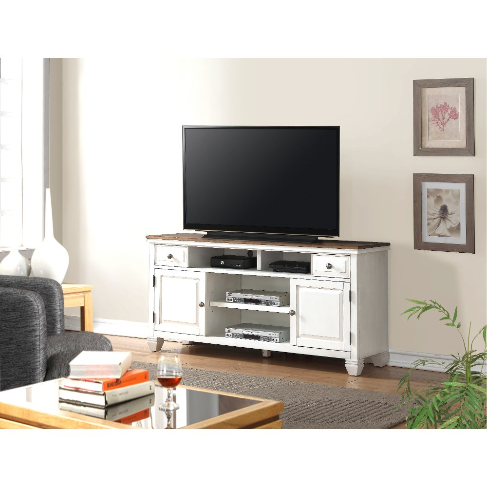 68 Inch White TV Stand - Camden | RC Willey Furniture Store