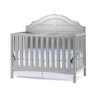 F36901.87 Cool Gray 4-in-1 Convertible Crib - Penelope