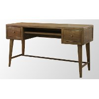 Moka Brown Writing Desk - Retro