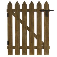 Wood Decorative Fence Wall Decor