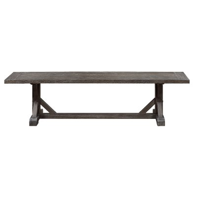 Charcoal Dining Bench - Paladin