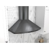 Zephyr Range Hood Savona Collection - 36 Inch Black Stainless Steel