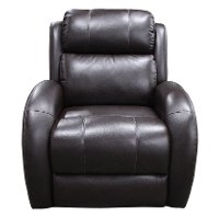 Dark Brown Power Recliner
