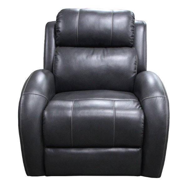 ... Gray Power Recliner