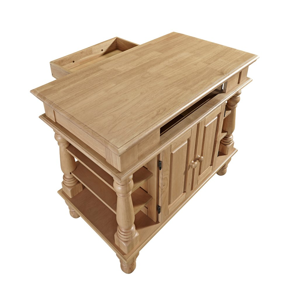 Natural Maple Kitchen Island - Americana | RC Willey Furniture Store