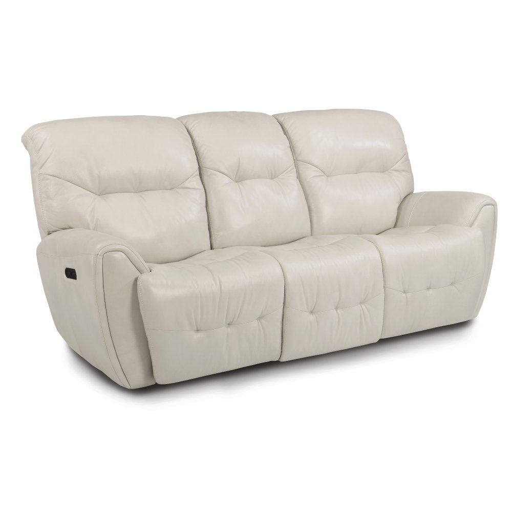 ... Icelandic White Leather-Match Power Reclining Sofa - Blaise ...  sc 1 st  RC Willey & Get a reclining sofa for your living room or den from us! | RC ... islam-shia.org