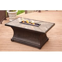Outdoor Patio Rectangular Fire Pit - Arlo