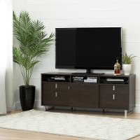 10521 Brown Oak TV Stand for TVs up 60 Inch - Uber