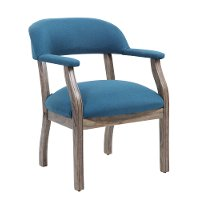 Peacock Blue Office Guest Chair
