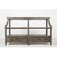 Modern Platinum Sofa Table - Tremblant