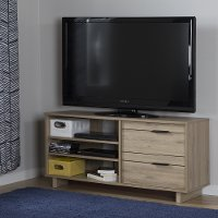 10375 Rustic Oak TV Stand with Drawers for TVs up to 55 Inch - Fynn