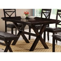 walnut dining table austin collection rc willey