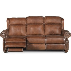 ... Coffee Bean Brown Leather Power Reclining Sofa - Hancock ...  sc 1 st  RC Willey & Get a reclining sofa for your living room or den from us! | RC ... islam-shia.org