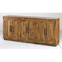 Natural Large Sideboard Cabinet