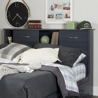 10365 Blueberry Full Size Bookcase Headboard - Ulysses