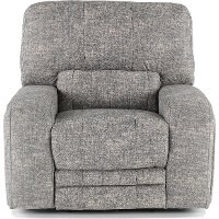 Gray Power Recliner - Rock Quarry