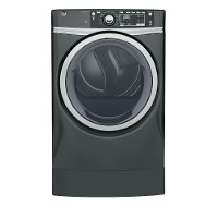 GFD49ERPKDG GE 8.3 cu. ft. Capacity Front Load Electric Dryer with Steam - Gray