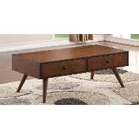 Brown Wood Coffee Table - Holloway