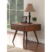 Brown Wood End Table - Holloway