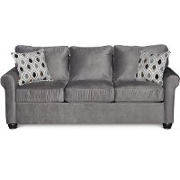 Smoke Gray Queen Sofa Bed - Jojo
