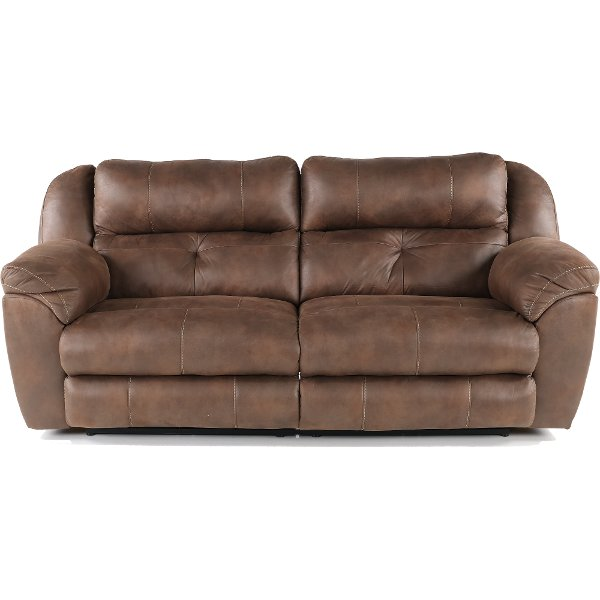 Dusk Brown Reclining Sofa Ferrington