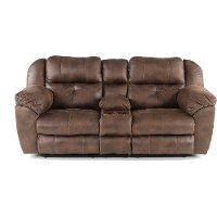 Dusk Brown Power Reclining Loveseat - Ferrington