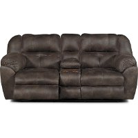Dusk Brown Power Reclining Living Room Set - Ferrington