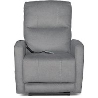 Santa Barbara Fog Gray Power Recliner - Bryant