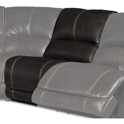 Brown Armless Recliner