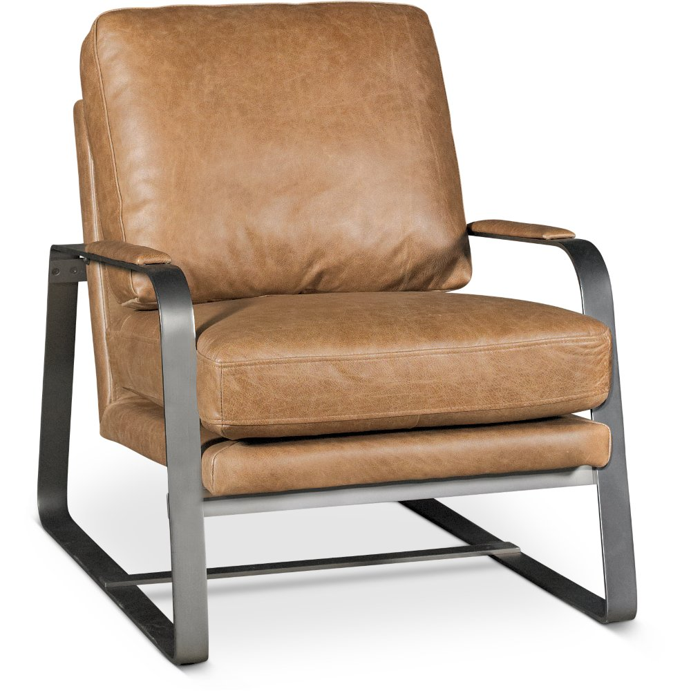 Awesome Leather Accent Chairs Decoration Ideas