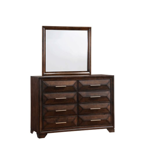 Tobacco Brown Classic Contemporary Dresser - Anthem