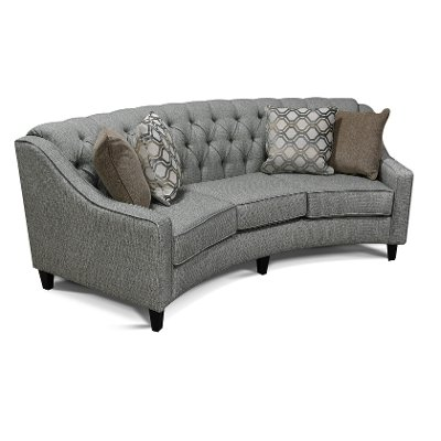 Classic Contemporary Gray Sofa Finneran RC Willey Furniture Store