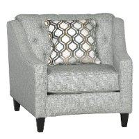Classic Contemporary Gray Chair - Finneran