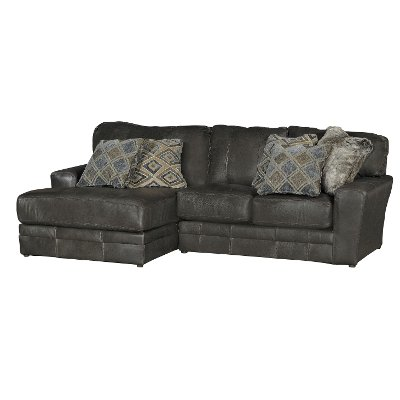 Steel Gray 2 Piece Sectional Sofa with LAF Chaise - Denali