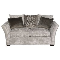 Casual Traditional Gray Loveseat - Winslet