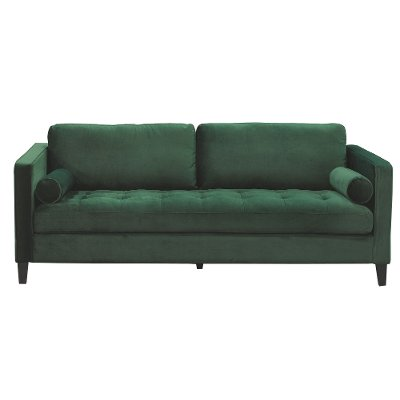 Magnolia Home Furniture Emerald Green Velvet Sofa   Dapper. Couches  couches for sale   sofas   On Sale   RC Willey Furniture