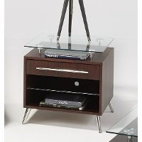 Glass Top End Table - Studio City