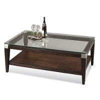 Glass Top Coffee Table - Dunhill