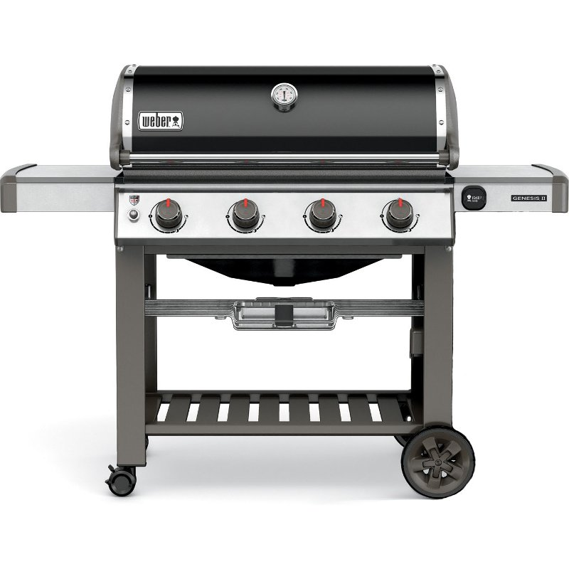 Weber Genesis II SE-410 Natural Gas Grill Black