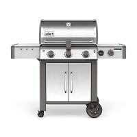 66004001 Weber Genesis II LX S-340 Natural Gas Grill Stainless Steel